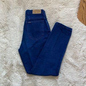 Vintage SUPER high rise 🍑 straight leg jeans